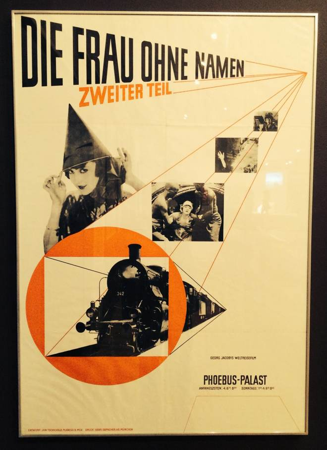 Poster by Jan Tschichold