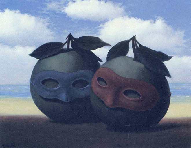 René Magritte, The Hesitation Waltz, 1952