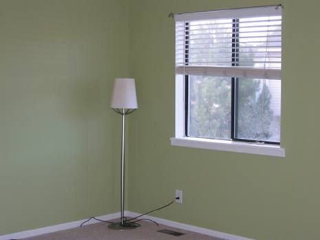 Image of living room after painting