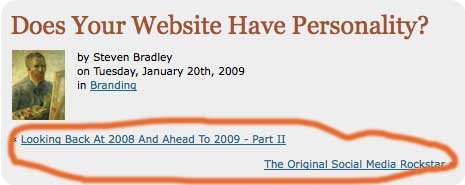 Image of the typical post heading on this blog