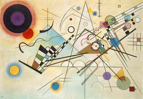 Kandinsky's Composition 8