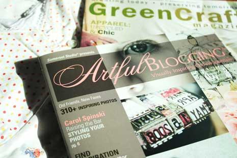 Cover of Artful Blogging magazine