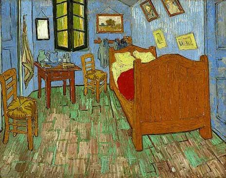 Bedroom at Arles by Van Gogh