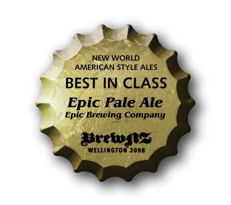Best in class award for Epic Pale Ale