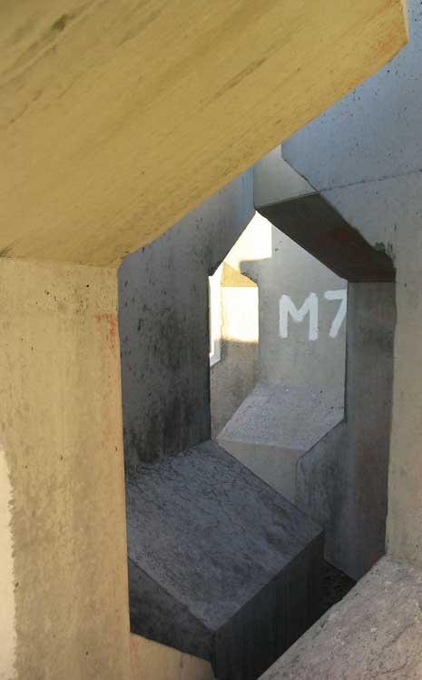Square Concrete Spiral
