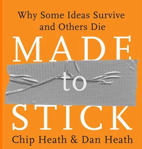 Book cover for Made to Stick