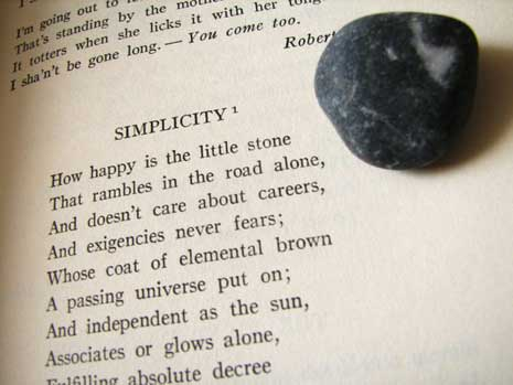Poem about simplicity