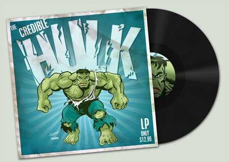 The Incredible Hulk album cover