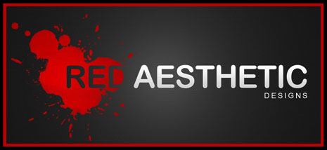 Logo for Red Aesthetic Designs