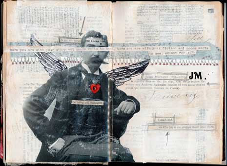 Collage art: Life time stories