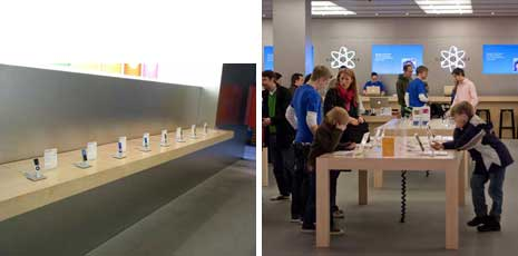 Apple Store interiors