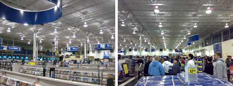 Best Buy store interiors
