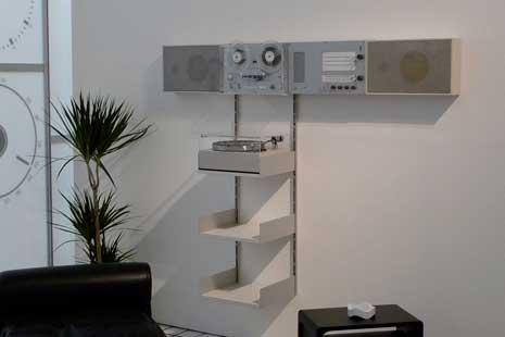 Dieter Rams living room installation