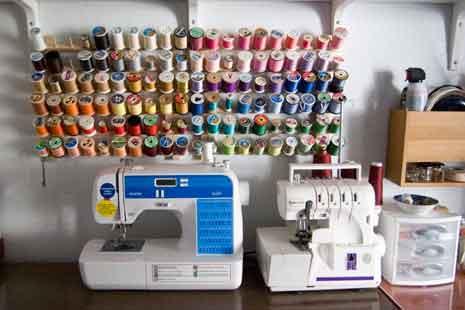 An organized craftroom