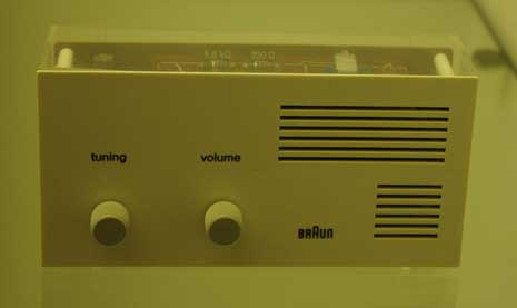 Braun prototype radio