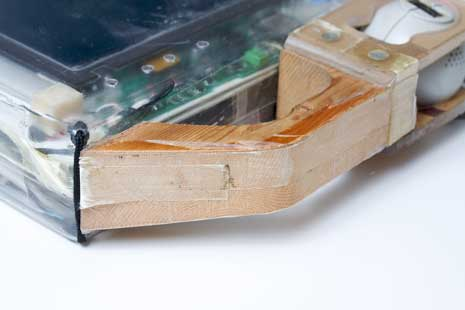 Prototype for a tablet device