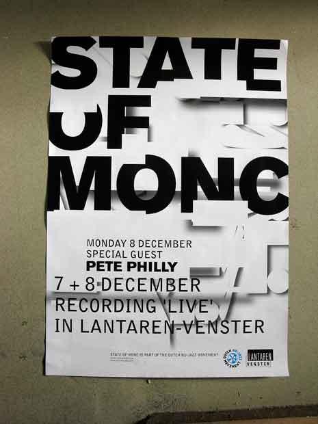 Poster for State of Monc live recording in Lantaren venster