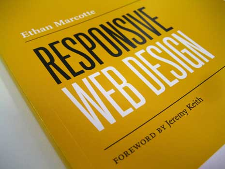 Cover from Ehtan Marcotte's Responsive Web Design book