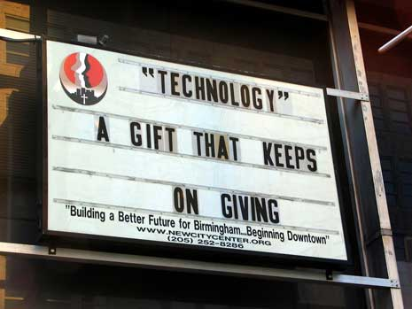 Technology: A Gift that keeps on giving