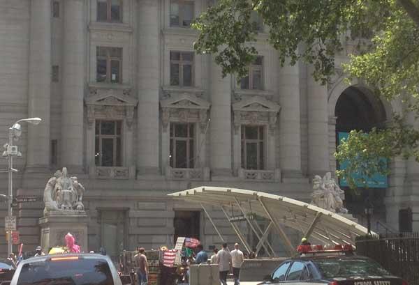Bowling Green in Manhattan's Financial District