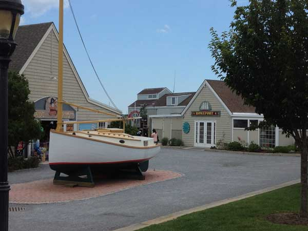 Boat at Gosman's Dock