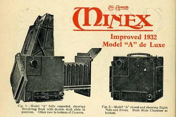 The Adams Minex improved Model A de Luxe 1932