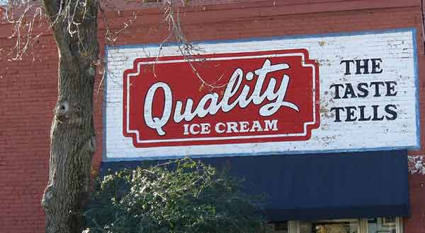 Mural for Quality Ice Cream