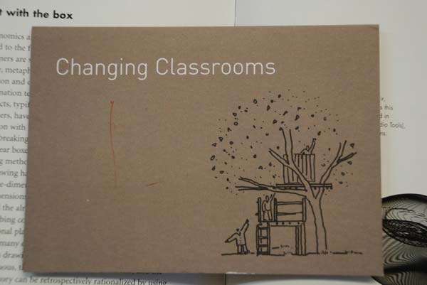 Cover for the design reference book Changing Classrooms