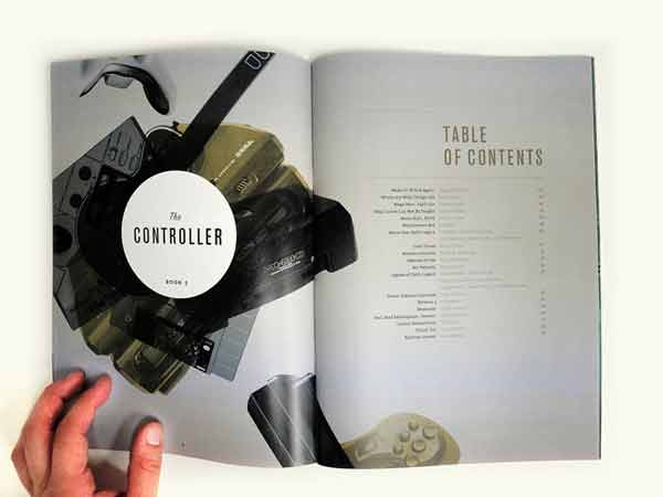 Table of contents for The Controller