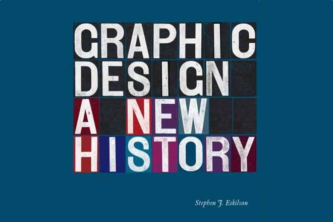 Book vover for Graphic Design: A New History