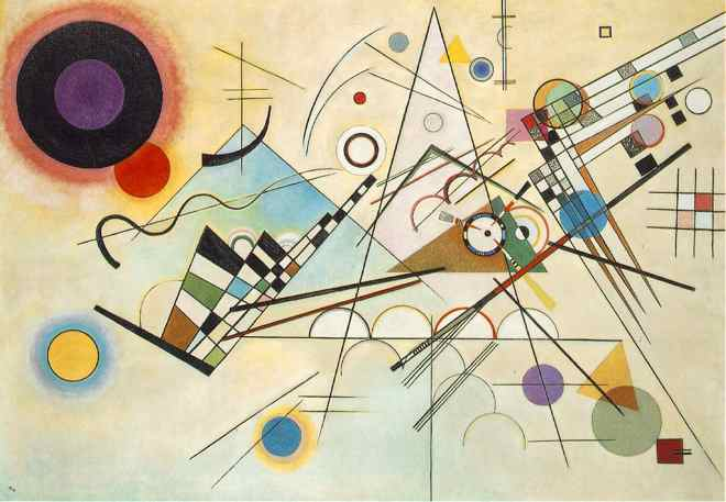 Wassily Kandinsky's Composition 8.