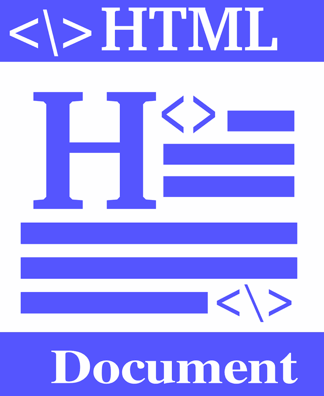 An HTML document